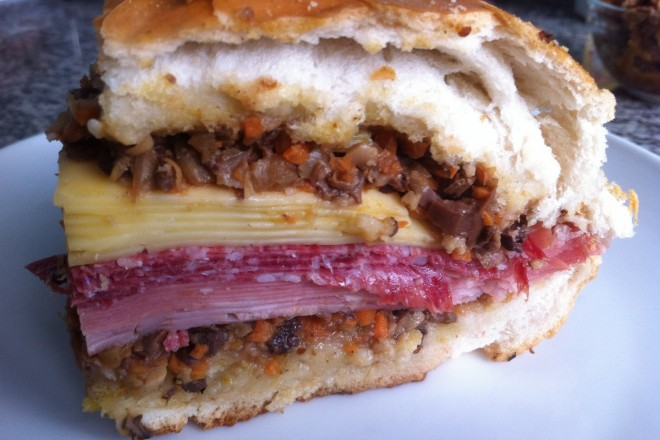introducing the muffaletta