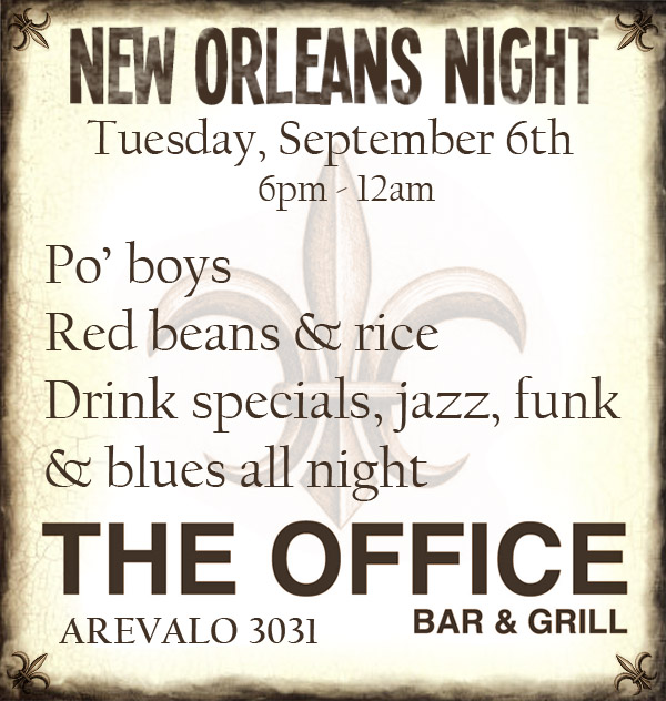 NOLA Night at The Office