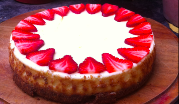 irresistible mascarpone cheesecake