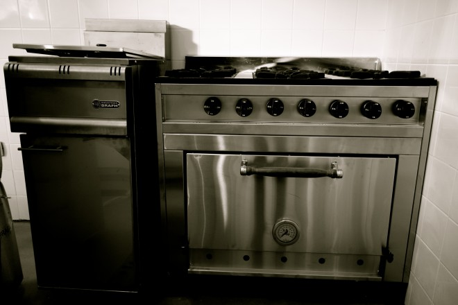 Hello, stove & fryer!