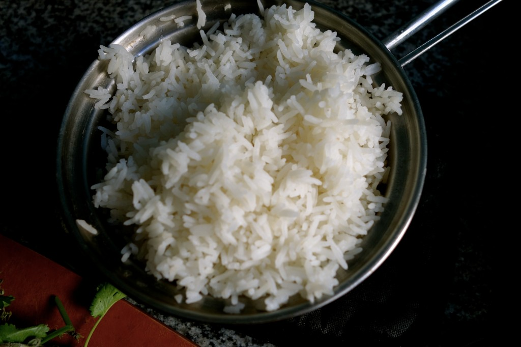 makin' perfect steamed rice