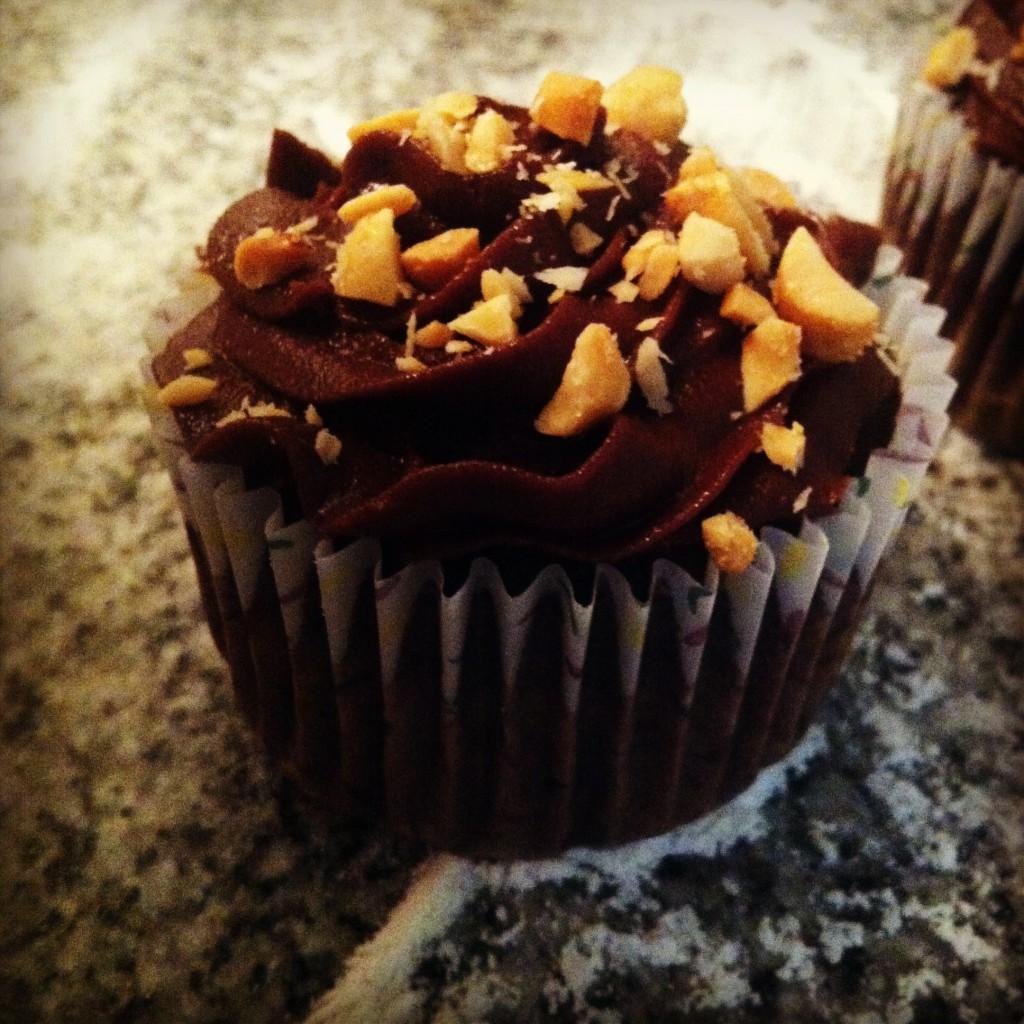 NOLAchef-salty-sweet-peanut-chocolate-mocha-cupcakes